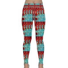 Architectural Abstract Pattern Classic Yoga Leggings