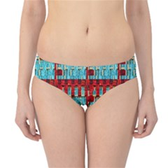 Architectural Abstract Pattern Hipster Bikini Bottoms