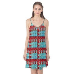 Architectural Abstract Pattern Camis Nightgown
