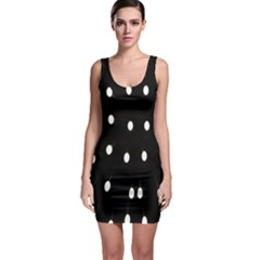 Lamps Abstract Lamps Hanging From The Ceiling Sleeveless Bodycon Dress