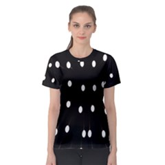 Lamps Abstract Lamps Hanging From The Ceiling Women s Sport Mesh Tee