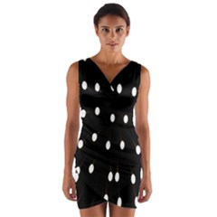 Lamps Abstract Lamps Hanging From The Ceiling Wrap Front Bodycon Dress