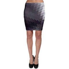 Abstract Pattern Moving Transverse Bodycon Skirt