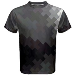 Abstract Pattern Moving Transverse Men s Cotton Tee