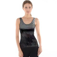 Abstract Pattern Moving Transverse Tank Top