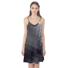 Abstract Pattern Moving Transverse Camis Nightgown