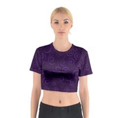 Pattern Cotton Crop Top