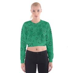 Pattern Women s Cropped Sweatshirt