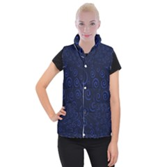 Pattern Women s Button Up Puffer Vest