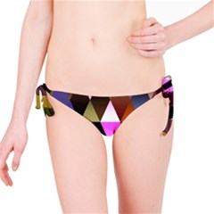Triangles Abstract Triangle Background Pattern Bikini Bottom