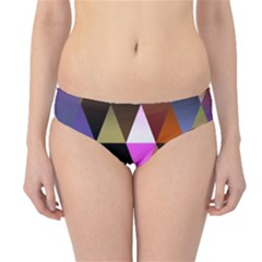 Triangles Abstract Triangle Background Pattern Hipster Bikini Bottoms