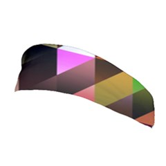 Triangles Abstract Triangle Background Pattern Stretchable Headband