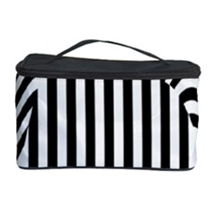 Stripe Abstract Stripped Geometric Background Cosmetic Storage Case