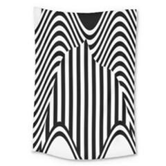 Stripe Abstract Stripped Geometric Background Large Tapestry
