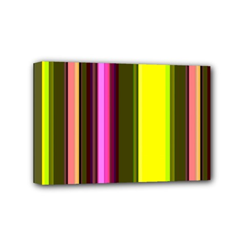 Stripes Abstract Background Pattern Mini Canvas 6  X 4