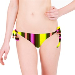 Stripes Abstract Background Pattern Bikini Bottom