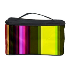Stripes Abstract Background Pattern Cosmetic Storage Case