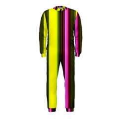 Stripes Abstract Background Pattern Onepiece Jumpsuit (kids)