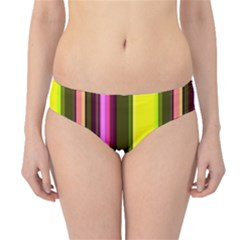 Stripes Abstract Background Pattern Hipster Bikini Bottoms
