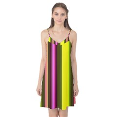 Stripes Abstract Background Pattern Camis Nightgown