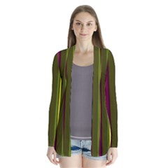 Stripes Abstract Background Pattern Cardigans
