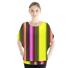Stripes Abstract Background Pattern Blouse