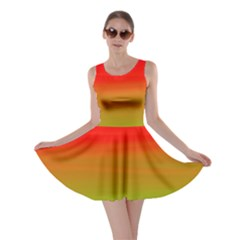 Watercolour Abstract Paint Digitally Painted Background Texture Skater Dress