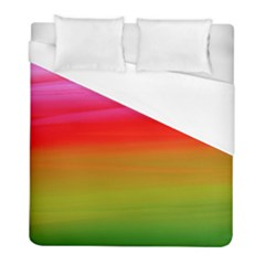 Watercolour Abstract Paint Digitally Painted Background Texture Duvet Cover (full/ Double Size)