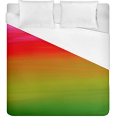 Watercolour Abstract Paint Digitally Painted Background Texture Duvet Cover (king Size)