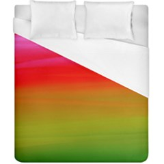 Watercolour Abstract Paint Digitally Painted Background Texture Duvet Cover (california King Size)