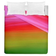Watercolour Abstract Paint Digitally Painted Background Texture Duvet Cover Double Side (queen Size)