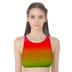 Watercolour Abstract Paint Digitally Painted Background Texture Tank Bikini Top