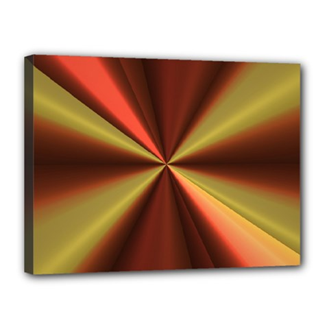 Copper Beams Abstract Background Pattern Canvas 16  X 12