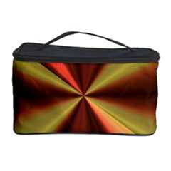Copper Beams Abstract Background Pattern Cosmetic Storage Case