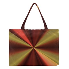 Copper Beams Abstract Background Pattern Medium Tote Bag