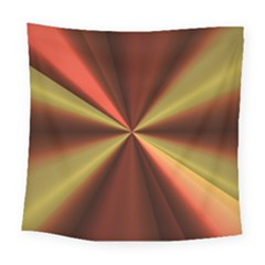 Copper Beams Abstract Background Pattern Square Tapestry (large)