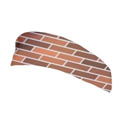 Brick Brown Line Texture Stretchable Headband
