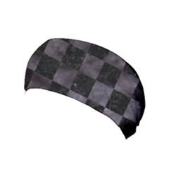 Square1 Black Marble & Black Watercolor Yoga Headband