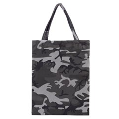 Initial Camouflage Grey Classic Tote Bag