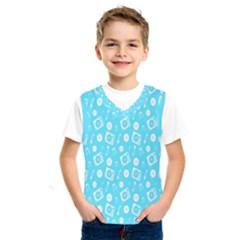Record Blue Dj Music Note Club Kids  Sportswear