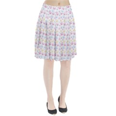 Pretty Colorful Butterflies Pleated Skirt