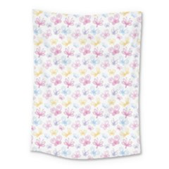 Pretty Colorful Butterflies Medium Tapestry