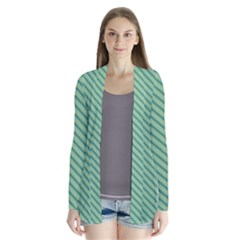 Striped Green Cardigans