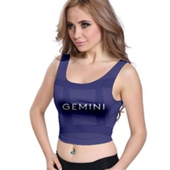 Zodiac Gemini Crop Top