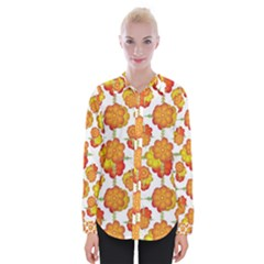 Colorful Stylized Floral Pattern Shirts