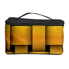 Rough Gold Weaving Pattern Cosmetic Storage Case