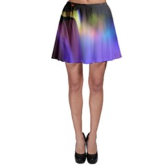 Niagara Falls Dancing Lights Colorful Lights Brighten Up The Night At Niagara Falls Skater Skirt
