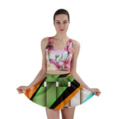 Abstract Wallpapers Mini Skirt