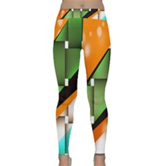 Abstract Wallpapers Classic Yoga Leggings