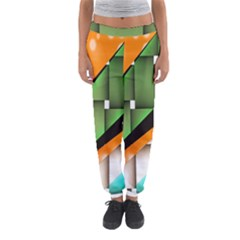Abstract Wallpapers Women s Jogger Sweatpants